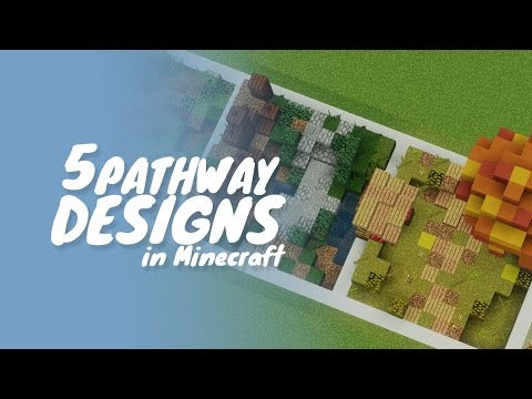 5 Path & Road Designs in Minecraft