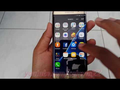 Samsung Galaxy S7 Edge : How to change Vibration pattern (Android Marshmallow)