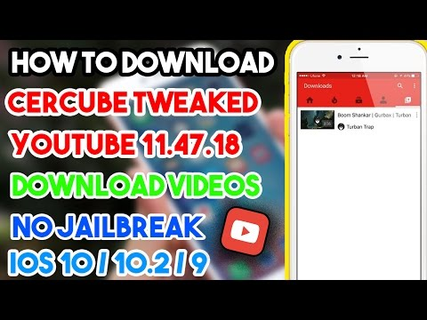 New How To Install Cercube Tweaked YouTube/Download Videos (NO JAILBREAK) iOS 10/9 iPhone/iPod/iPad