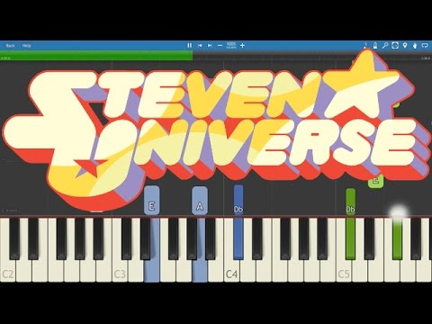 Steven Universe - Both Of You Piano Tutorial -