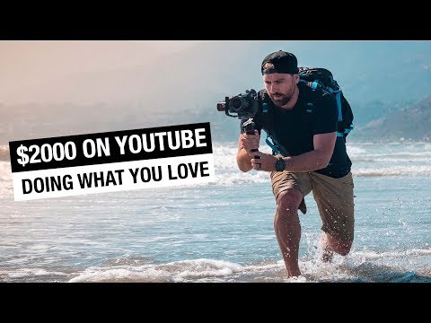 Make $2000 a Month on YouTube AD Revenue