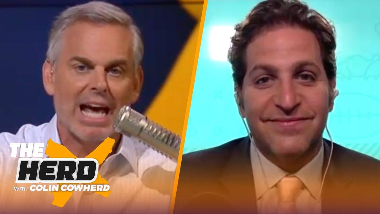 Peter Schrager shares 2021 NFL Mock Draft, talks Justin Fields & Kyle Pitts   NFL   THE HERD