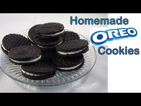 Homemade Oreo Cookies- with yoyomax12