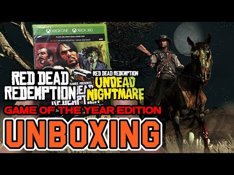Red Dead Redemption Game of the Year Edition (Xbox One/Xbox 360) Unboxing !!