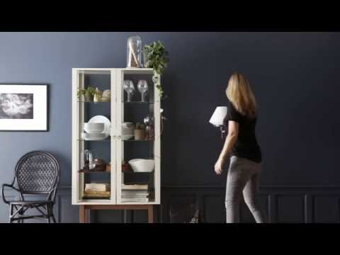 IKEA ideas: How to make a stylish cabinet display