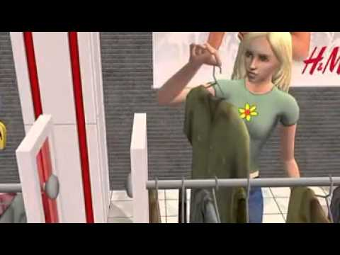 The Sims 2 - H&M Fashion Stuff Official Trailer  HD