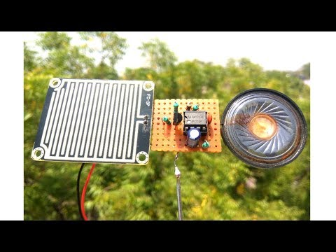How to make rain alarm project | makelogy