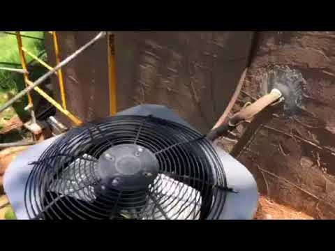 HVAC unit killed by flying scaffold walk boards