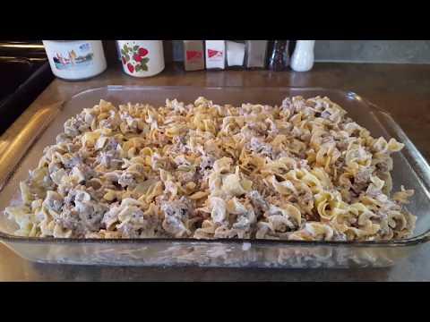Beef Stroganoff Casserole Recipe