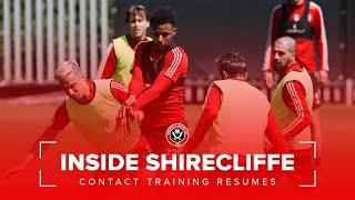 Sheffield United resume contact training | Inside Shirecliffe.
