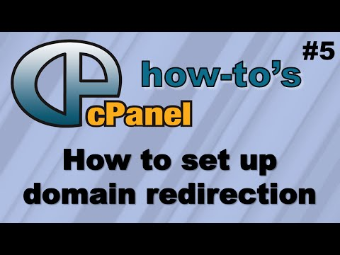 How to set up domain redirection using (Hostgator) cpanel
