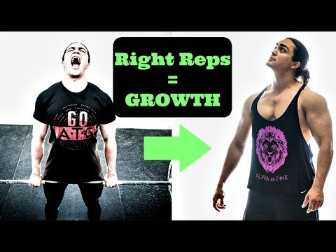 What Type of Reps Build The MOST Amount of MUSCLE?