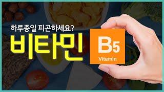 피곤하다면 이것이 부족할 수도!  비타민 B5효능과 결핍증