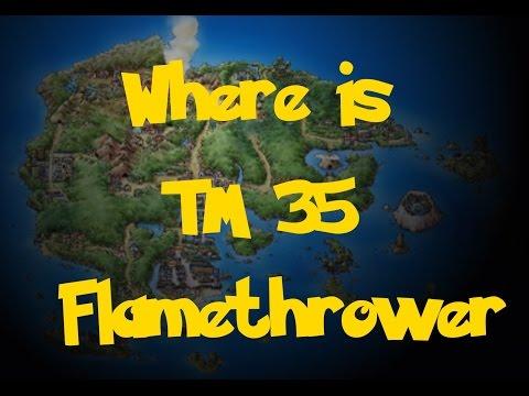 Where Is: TM 35 - Flamethrower (Pokemon Sapphire/Ruby/Emerald)