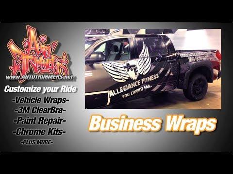 Car Wraps   Business Vehicle Wraps   Clear Bra   Auto Trimmers - Minneapolis, St Paul, Minnesota