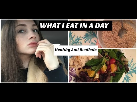 What I Eat In a Day! (Healthy & Realistic) | Anorexia Recovery