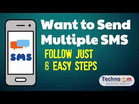 📌Want to Send Multiple SMS 💬Follow Just 8 Steps