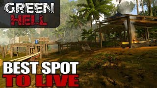 Download BEST SPOT TO LIVE | Green Hell | Let's Play Gameplay | S01E19 Video