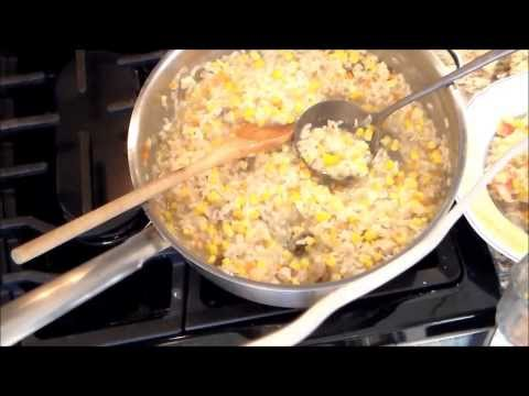 the best Risotto with lobster mushrooms corn and black truffle oil