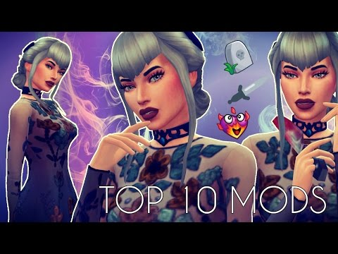 The Sims 4 TOP 10 MODS I CAN NOT LIVE WITHOUT| Serial Killer Mod and more!