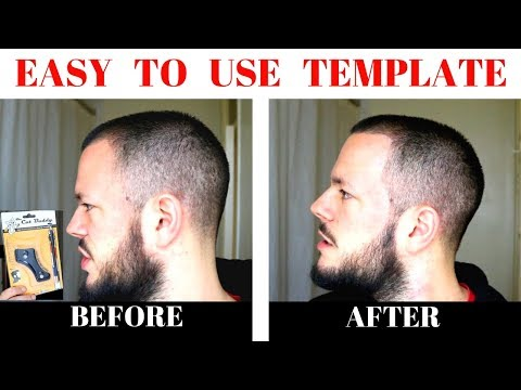 How To SHAPE UP CURVED SIDEBURNS EASILY With THE CUT BUDDY