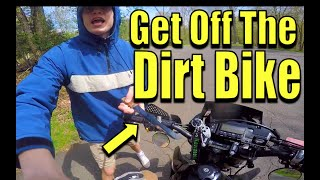 Thug Steals My Dirt Bike