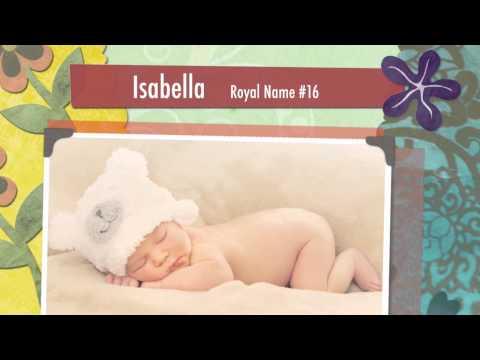 Baby Names: 40 British Royal Baby Girl Names