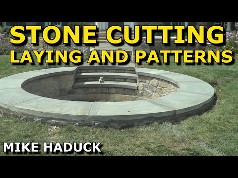 Stone cutting, laying and making patterns with Jeff Haduck (Mike Haduck)