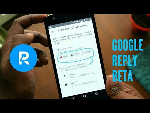 Google reply : New era of messaging