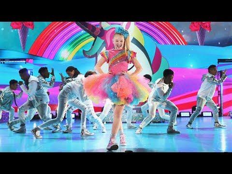 JOJO SIWA'S KIDS' CHOICE AWARDS FULL PERFORMANCE!! +EPIC SLIME!!