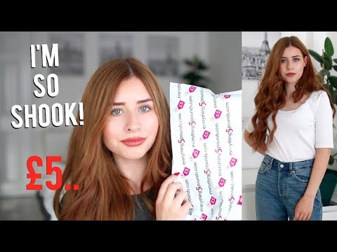 HUGE Everything 5 Pounds Try On Haul! IS IT A SCAM!?