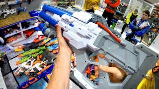 NERF GUNS for Nerf Gun Game 12.0!