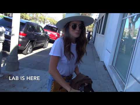 Nikki Reed and Ian Somerhalder take baby Bohdi out in Bevely Hills