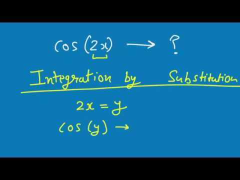 Integration 5 | Hindi | Integration by substitution