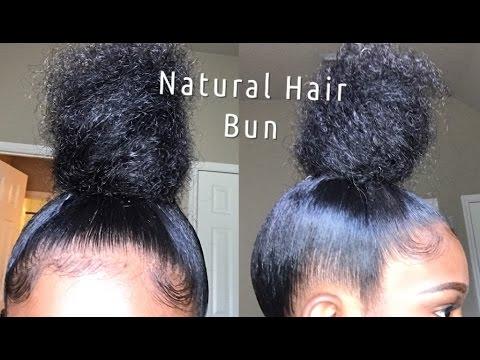 Sleek High Bun Tutorial | Natural Hair