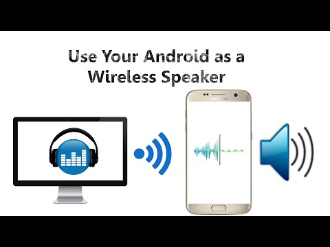 Use Your Android as a Wireless Speaker and Stream Music From Your Computer