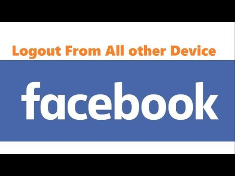 How to log out of Facebook from another computer, phone or tablet.?