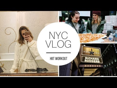 New York City Vlog | HIIT Workout