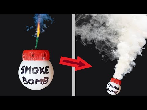 How to make a Smoke Bomb with Ping Pong Balls ✔
