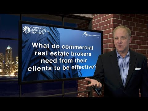 What do Commercial Real Estate Brokers Need from their Clients to be Effective?