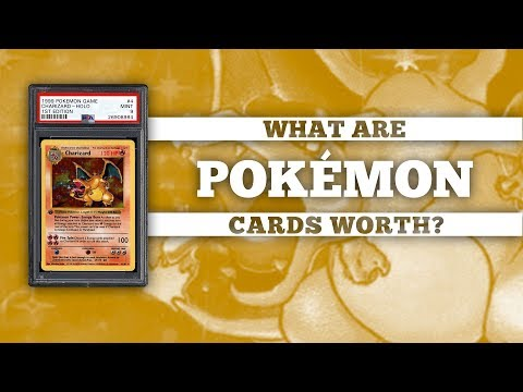 What Are My Pokémon Cards Worth?