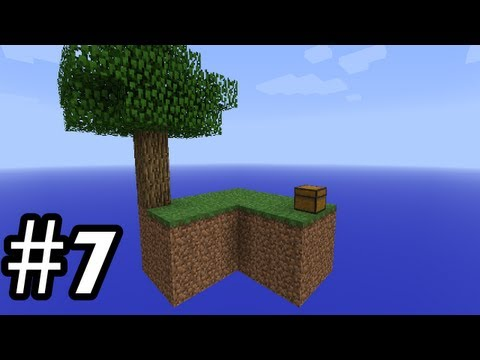 Minecraft: SkyBlock Multiplayer Ep7 - Lets Build A Nether Portal!
