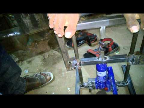multipurpose hydraulic press mechanical engineering project topics