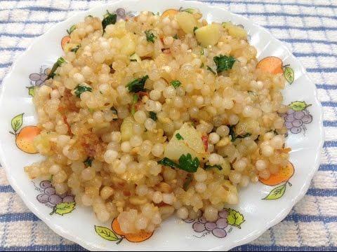 Sabudana khichadi recipe - tomato twist - Spicy / tangy / tasty - DOTP - (Ep 166)