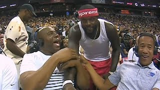 Lance Stephenson Shocks Magic Johnson After Crashing His Interview!