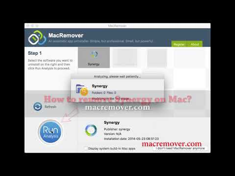 How to Remove Synergy on your macOS and Mac OS X?