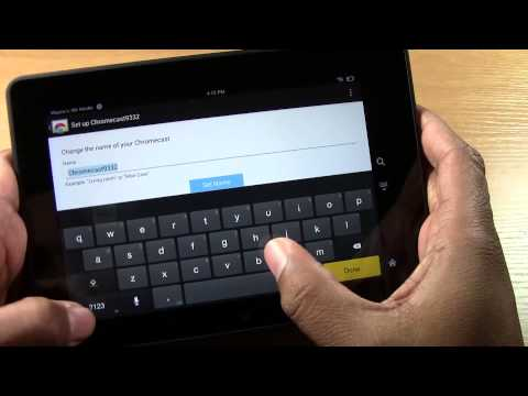 Chromecast - How to Setup (Part 2) From any Kindle Fire​​​ | H2TechVideos​​​