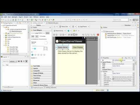 Download XML from a Web Server: Android Programming