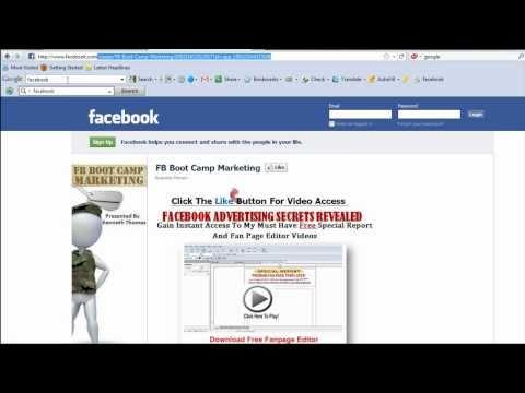 facebook Fan Page URL