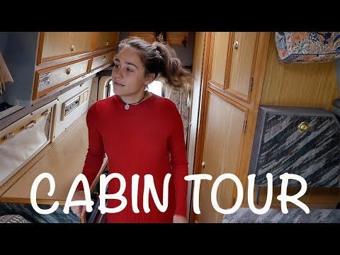 CABIN TOUR OF OUR VAN (The Wildering Camper)
